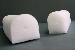 Hanger foam profile